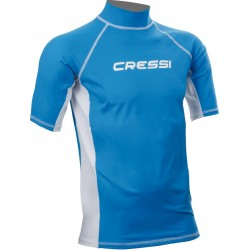 Top Lycra RASH GUARD Bleu...