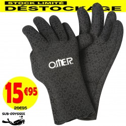 Gants AQUASTRETCH 2mm - Omer