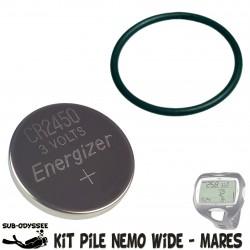 Kit Pile + Joint pour NEMO...
