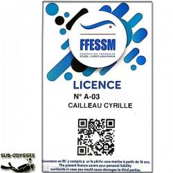 Licence Férédale Adulte...