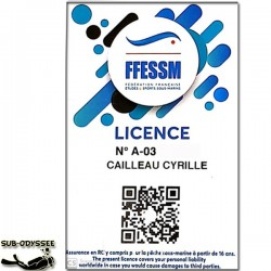 Licence Férédale Ado (12 à...