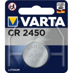 Pile Bouton Lithium CR2450...