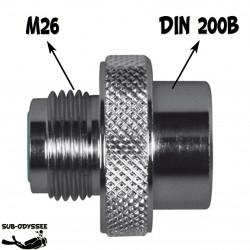 Adaptateur M26 Mâle / DIN...