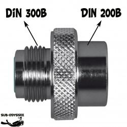 Adaptateur DIN 300 Mâle /...