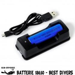 Chargeur + Batterie Li-Ion...