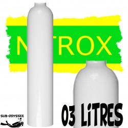 Bouteille 3 Litres NITROX...