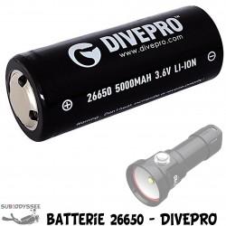 Batterie 26650 Lithium sans...