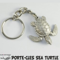 Porte Cle SEA TURTLE Etain...