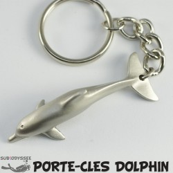 Porte Cle DOLPHIN Etain -...