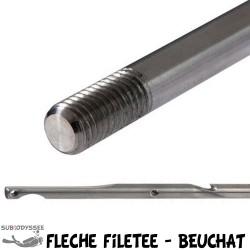 Flèche Filetée Zinguée Ø...