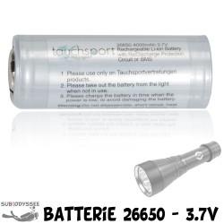 Batterie Li-Ion 26650 -...